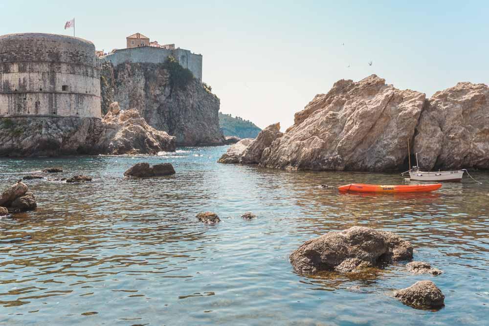 Kayak around Dubrovnik