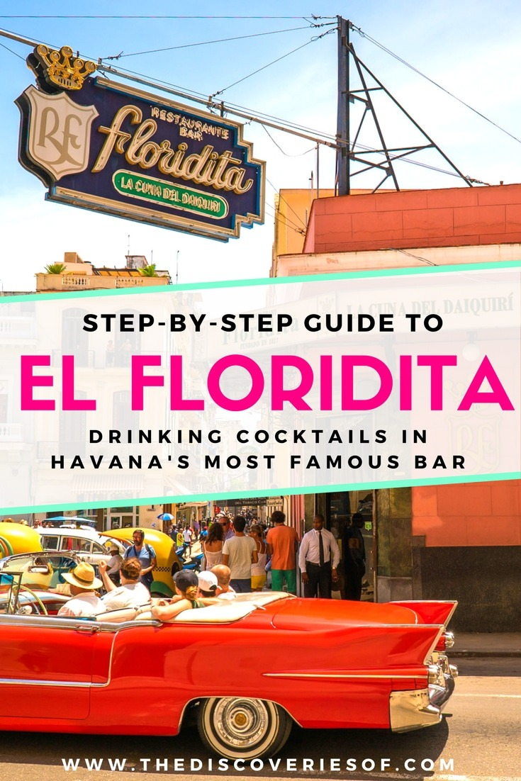 El Floridita bar is one of Havana's hotspots. Known for 2 things - being the birthplace of the daiquiri and one of Hemingway's favourite spots, here's why it should be at the top of your Havana itinerary. Read now. Cuba I Party I Nights I Vintage #travel