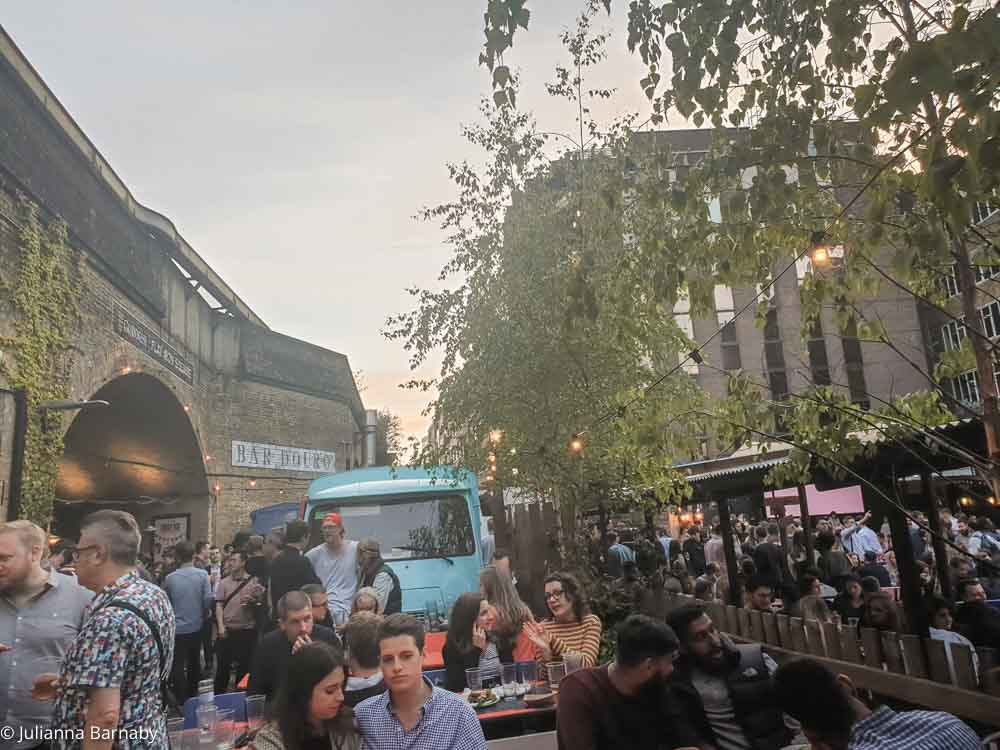 Summer evenings at Flat Iron Square