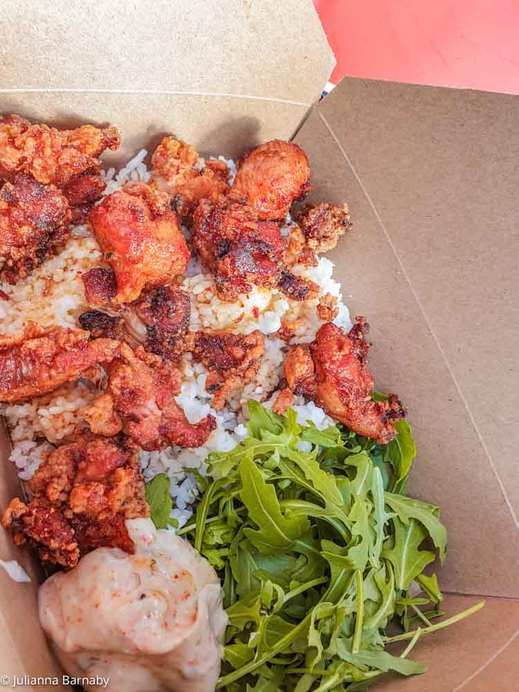 Karaage Chicken from Tatami Ramen