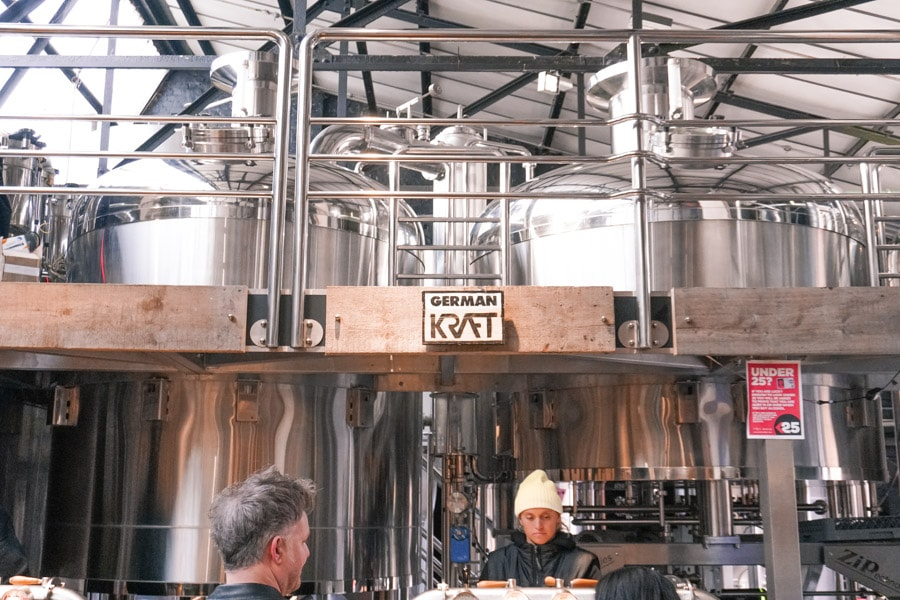 Craft Beer from German Kraft