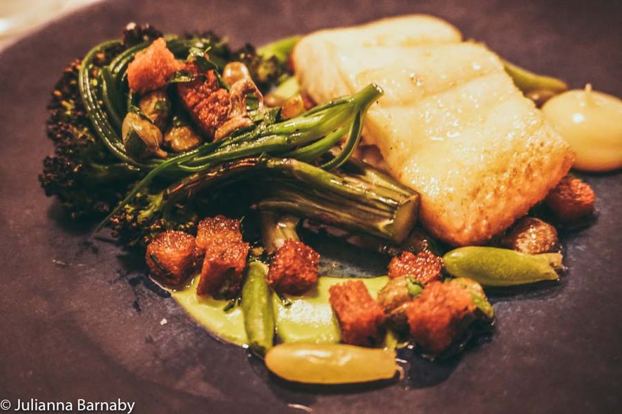 Halibut at Frenchie