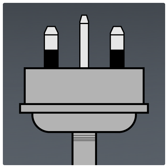 International Power Sockets Plug Type G