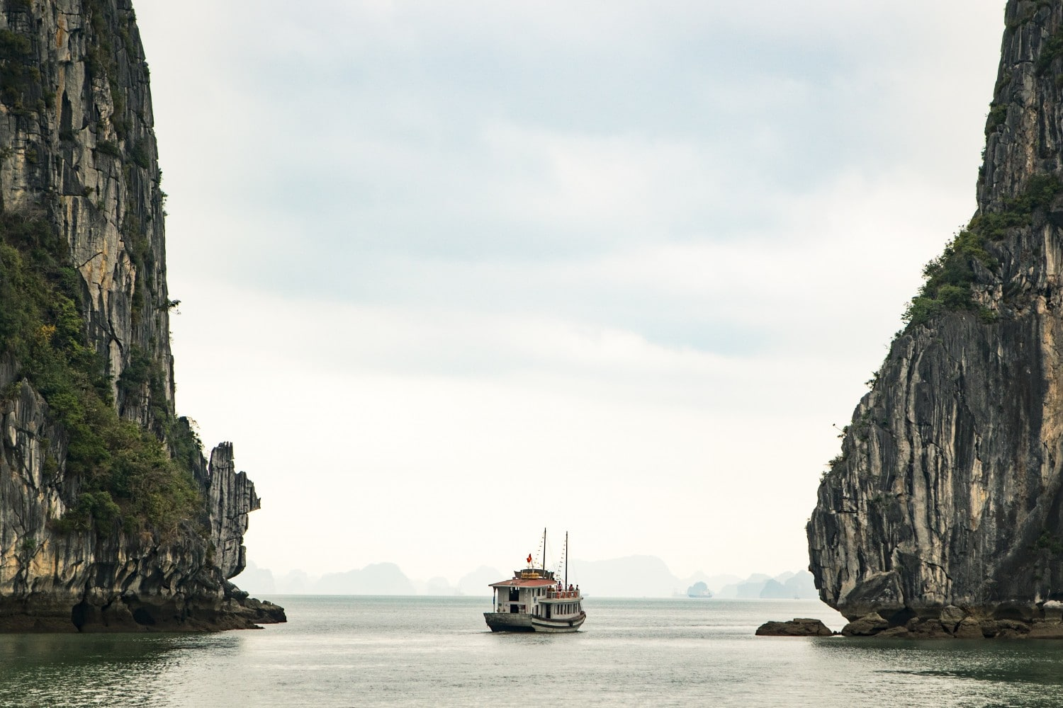 Ha Long Bay is one of the best places to visit in Vietnam. Photo by Ryan Waring on Unsplash