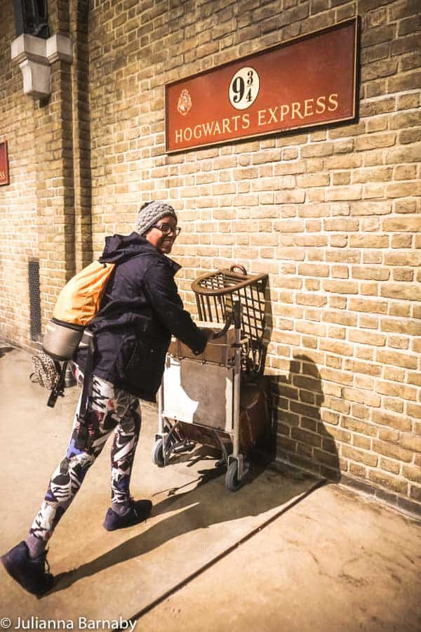 WB Studios London - Running with trolley
