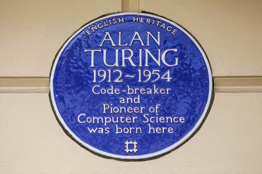 Alan Turing Plaque Little Venice