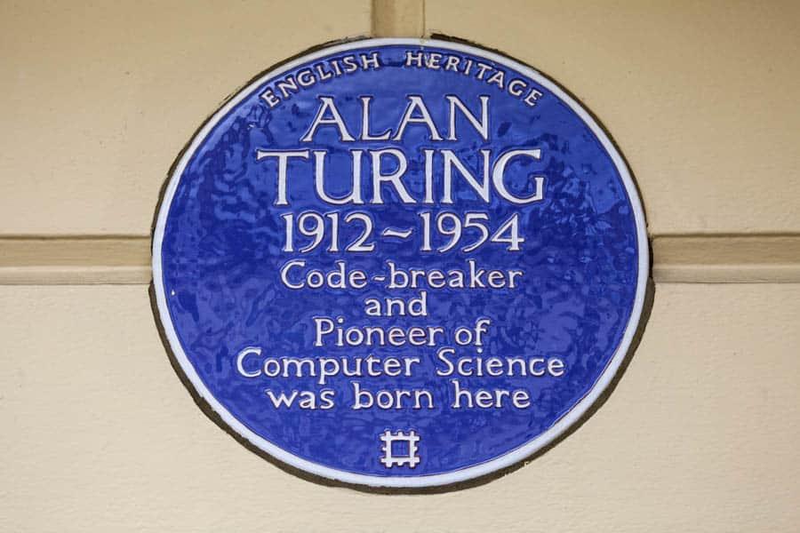 Alan Turing Plaque Little Venice