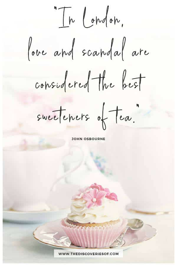 Love and scandal London quote