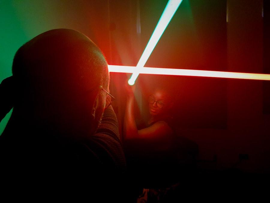 Jedi Training at Fizzbox