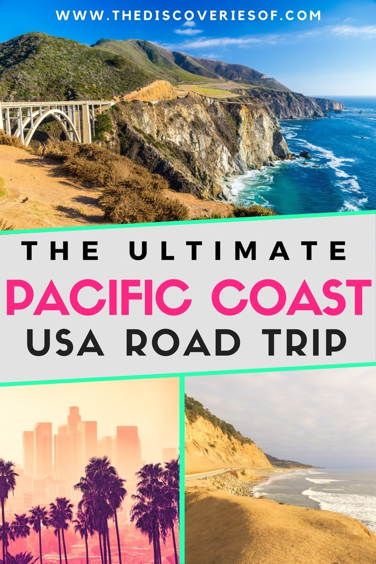 West Coast America Road Trip