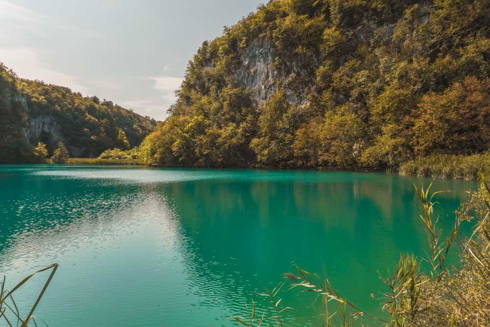 Brightly coloured at Plitvice Lakes