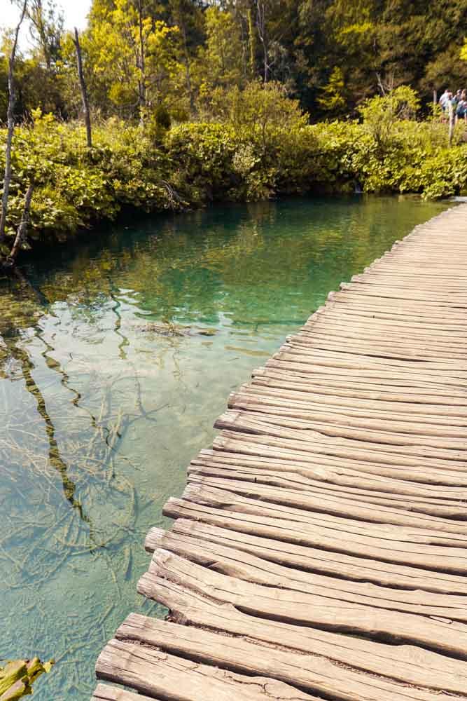 Walkway in Plitvice