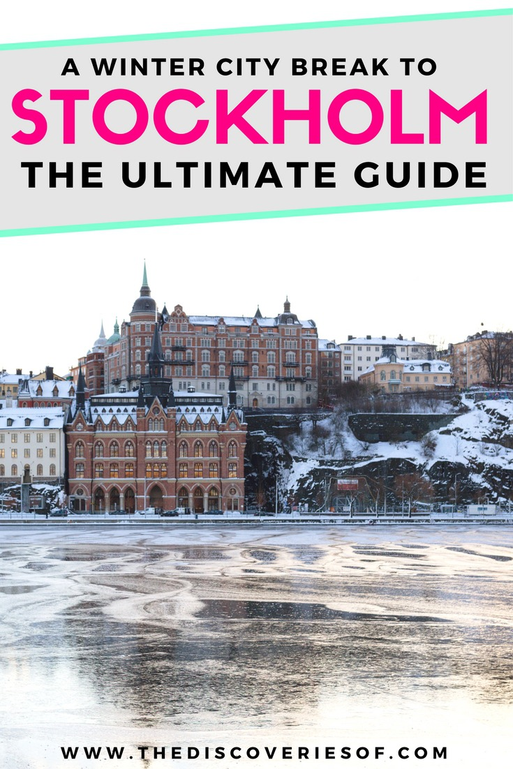 Stockholm, Sweden is the perfect winter wonderland city break. Looking for things to do in Stockholm? We've got you covered. The best food, shopping, hotel, architecture and restaurants for your winter trip. Read now.