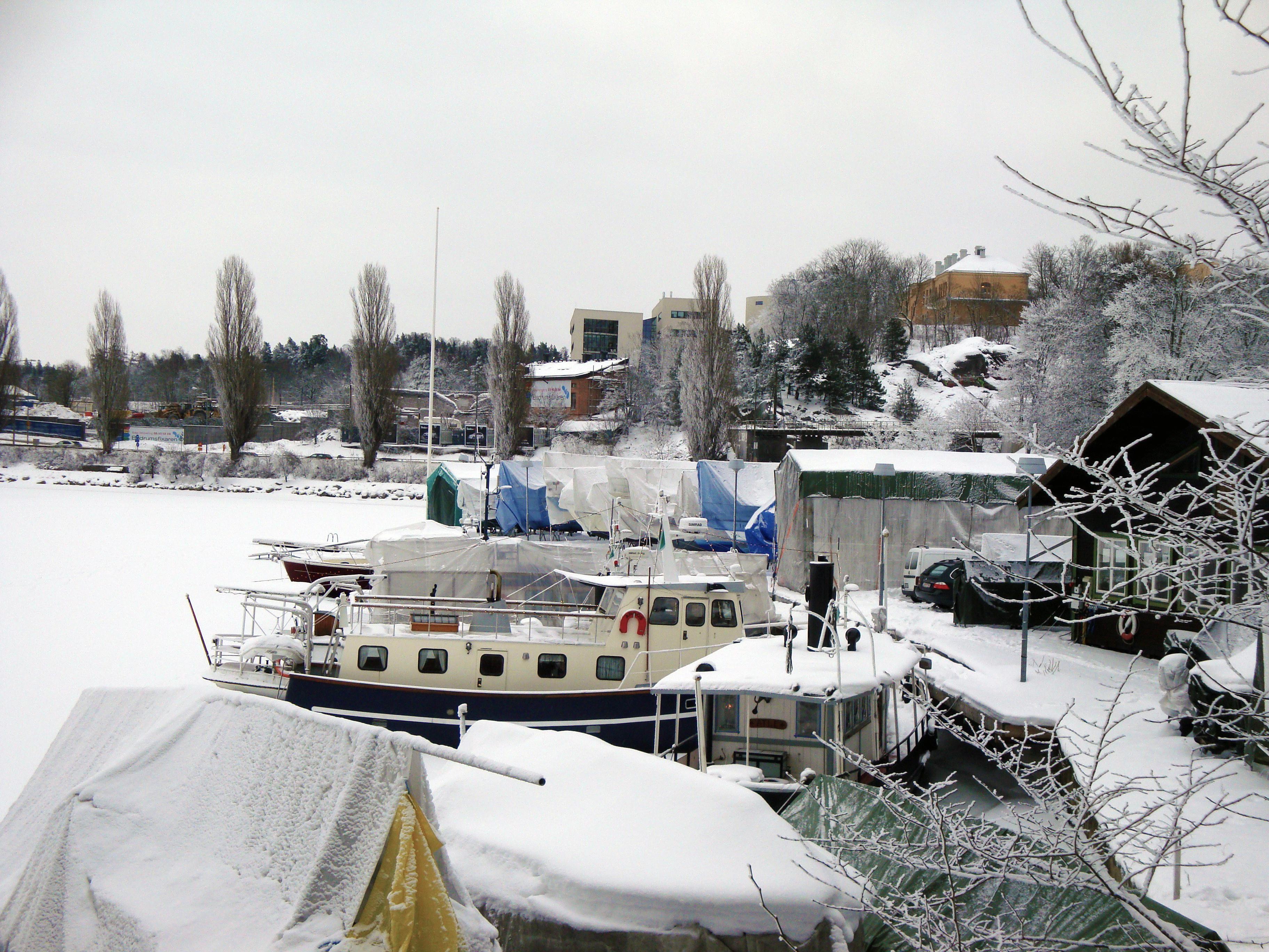 Stockholm in winter - Ekoparken