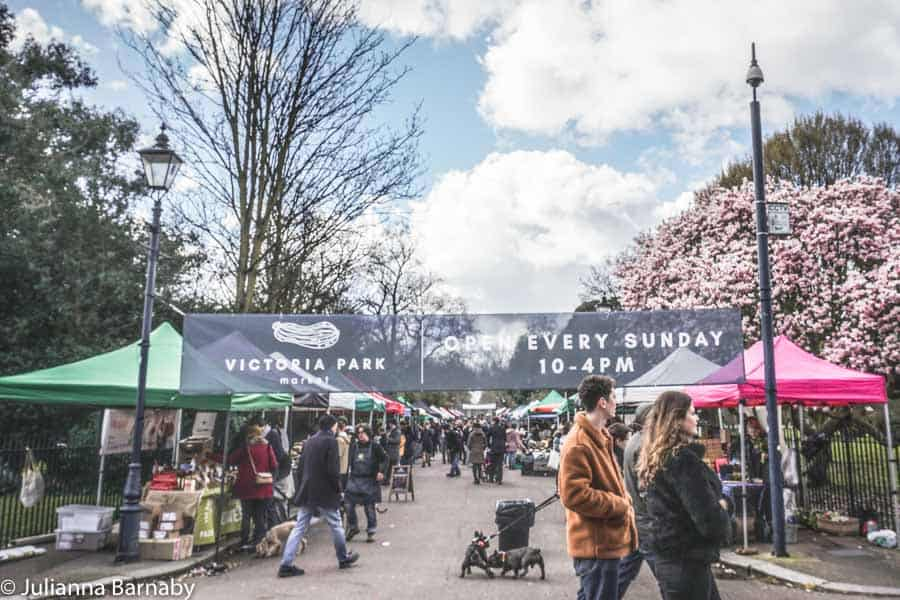 Sunday Markets in London - Victoria Park Market