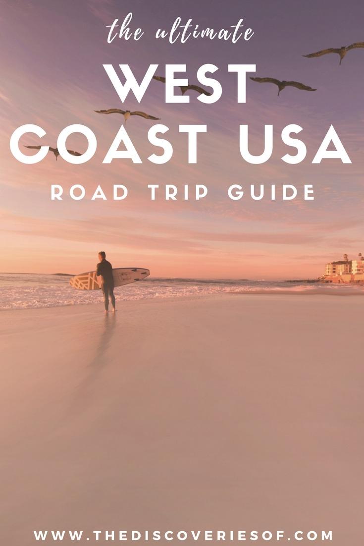 West Coast Road Trip USA. The full itinerary. Road trip ideas. #sanfrancisco #losangeles #traveldestinations (1)