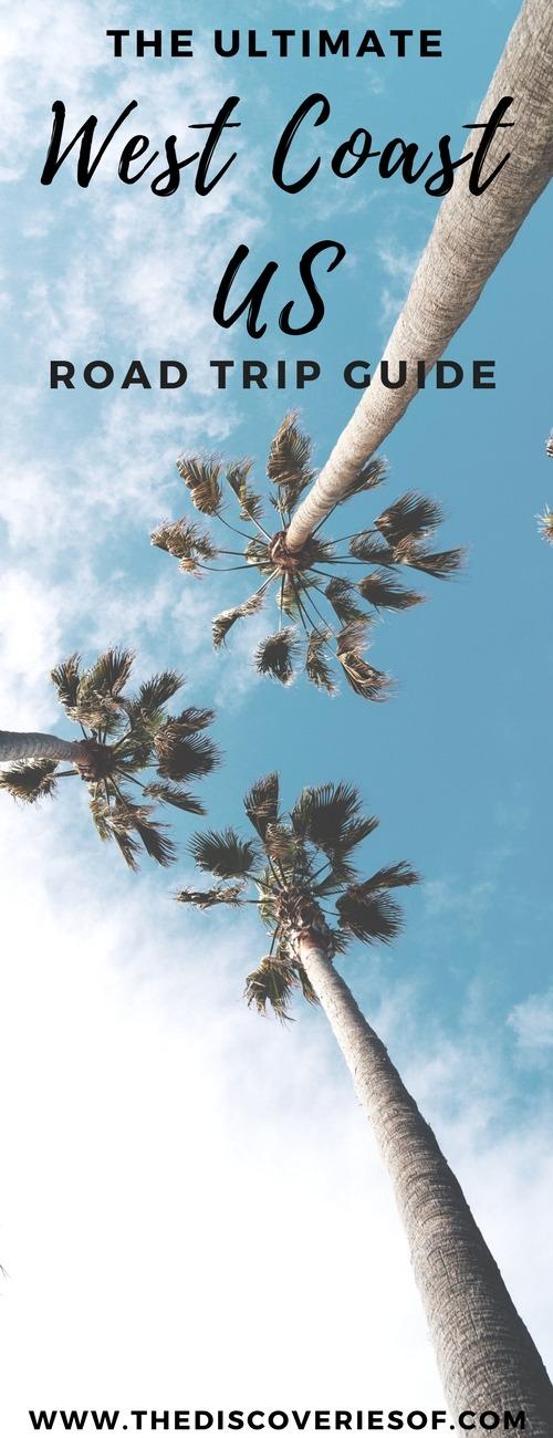 West Coast Road Trip USA. The full itinerary. Road trip ideas. #sanfrancisco #losangeles #traveldestinations