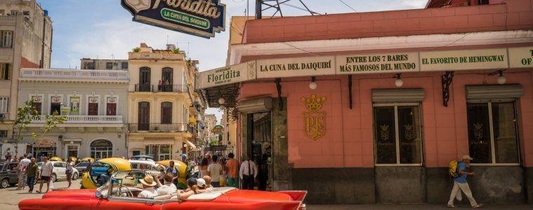 El Floridita Havana is one of the best bars in Havana and one of Hemingway's old favourite haunts
