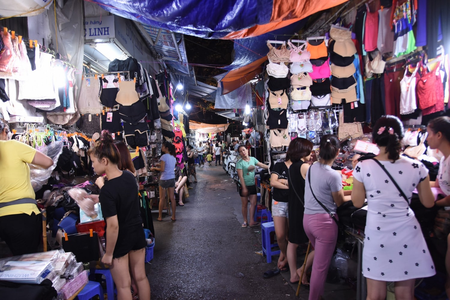 Hanoi Night Market. Read our guide to the best things to do in Hanoi.
