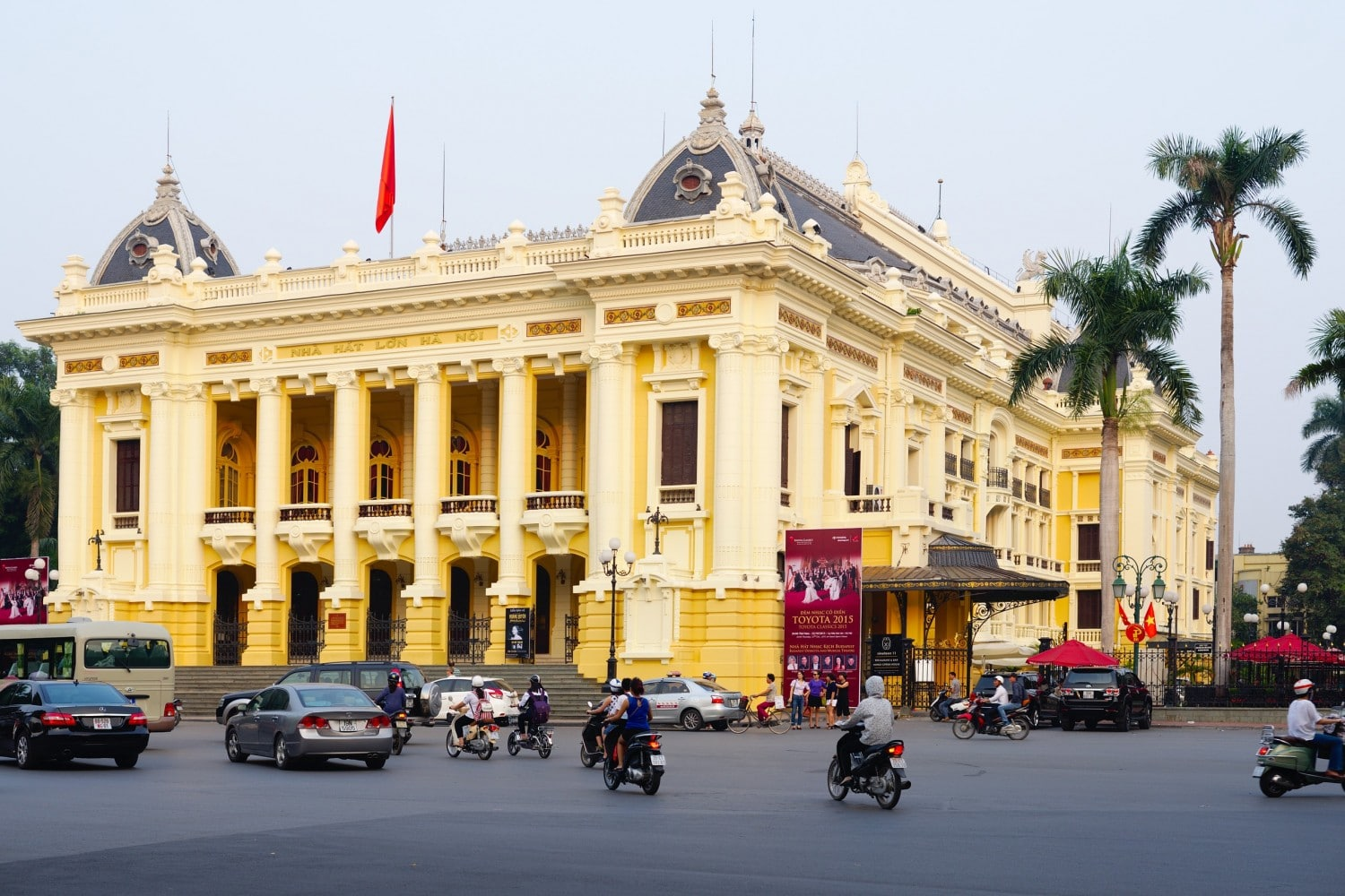 Don't miss a show at the opera house when you are in Hanoi