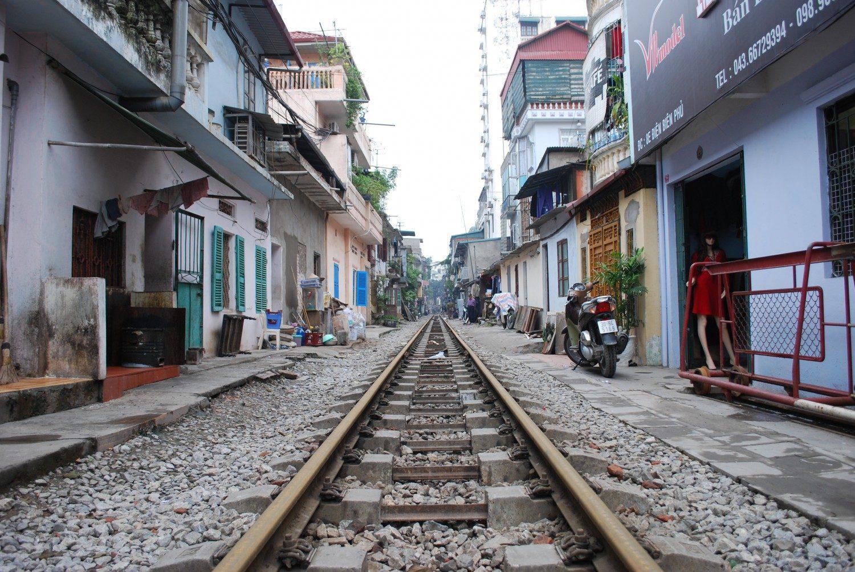 Train Street Hanoi