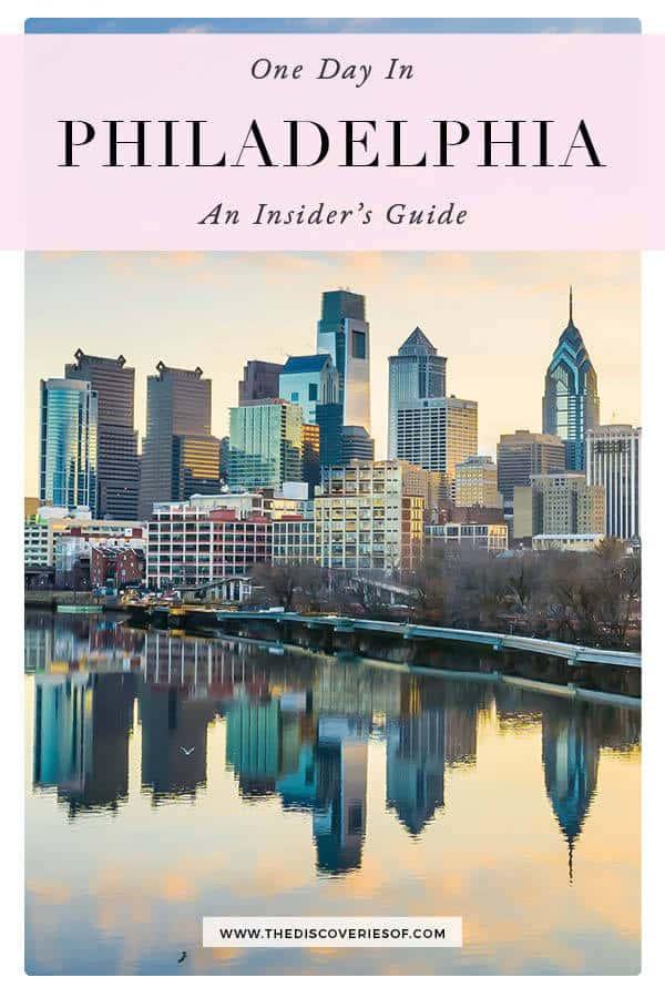 1 day Philadelphia Itinerary