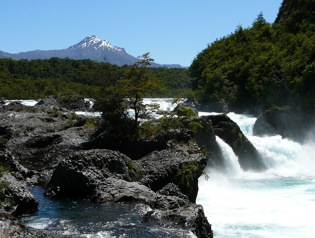 Saltos do Petrohue Waterfalls, Chile