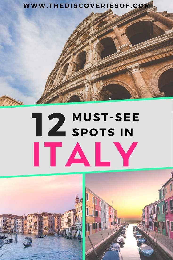 Your Guide To The Best Places To Go In Italy
