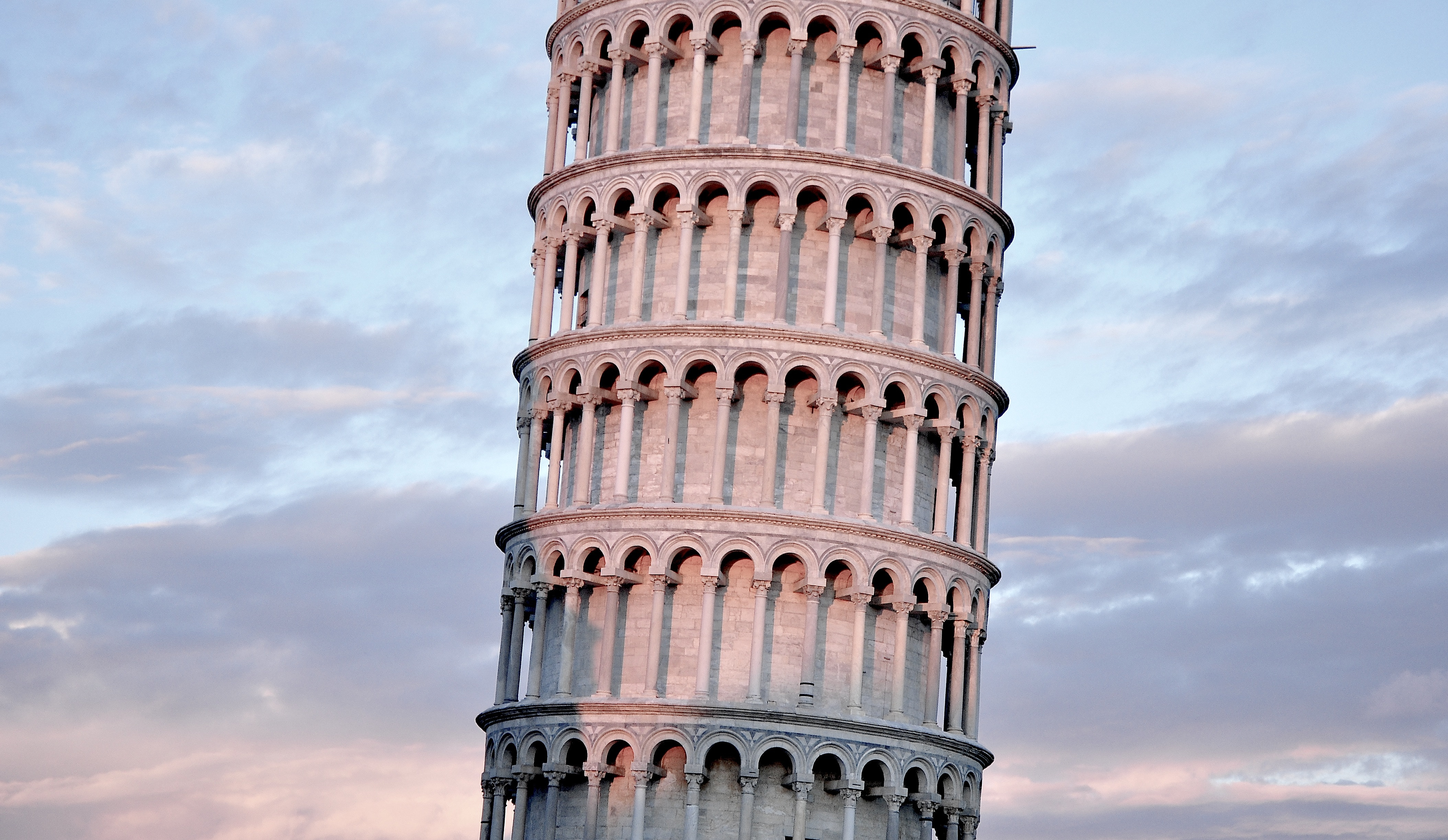 The leaning tower of Pisa is one of the most famous places in Italy. Can you guess the others