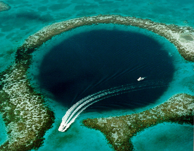top attractions in Central America - Blue Hole Belize
