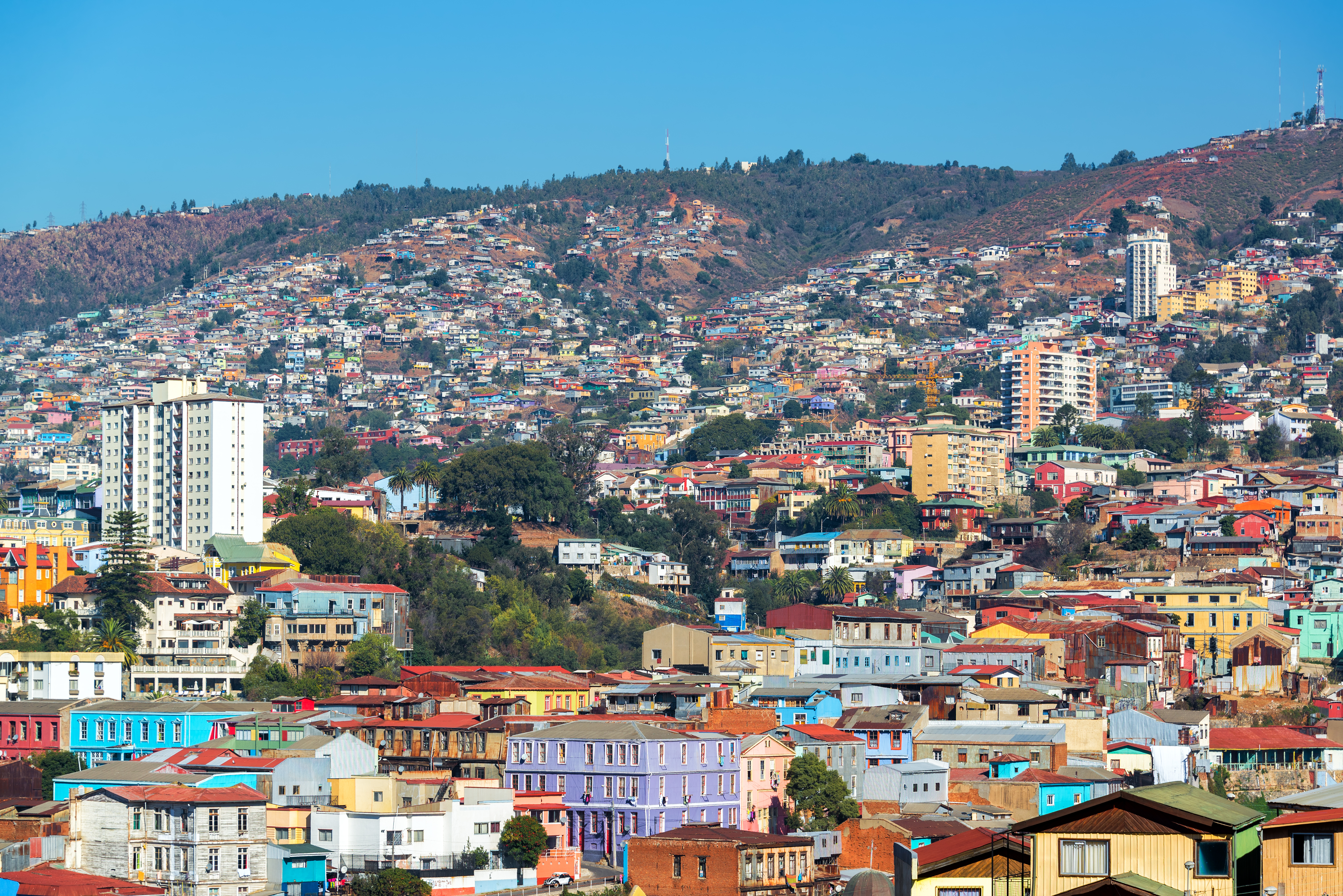 Valparaiso Hills - Read why we think Valparaiso is an unmissable place to see in Chile