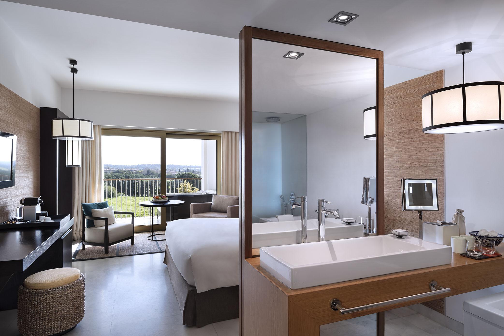 Bedroom in the Anantara Vilamoura - best luxury hotel in the Algarve