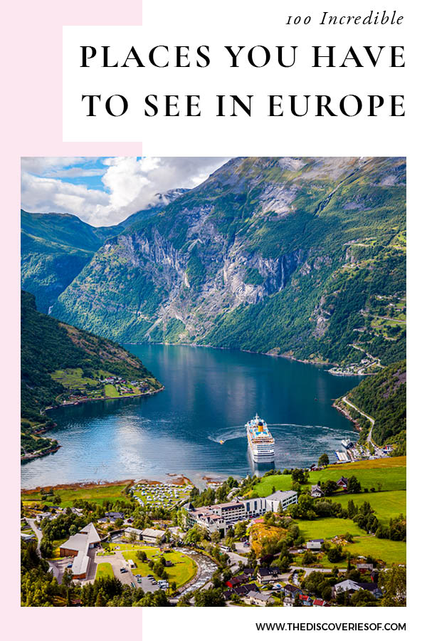 Places to see in Europe