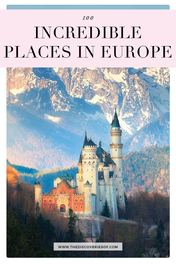 Places to visit in Europe bucket list