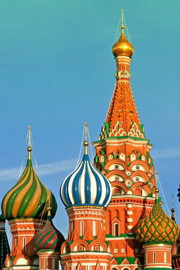 St Basil Cathedral Red Square