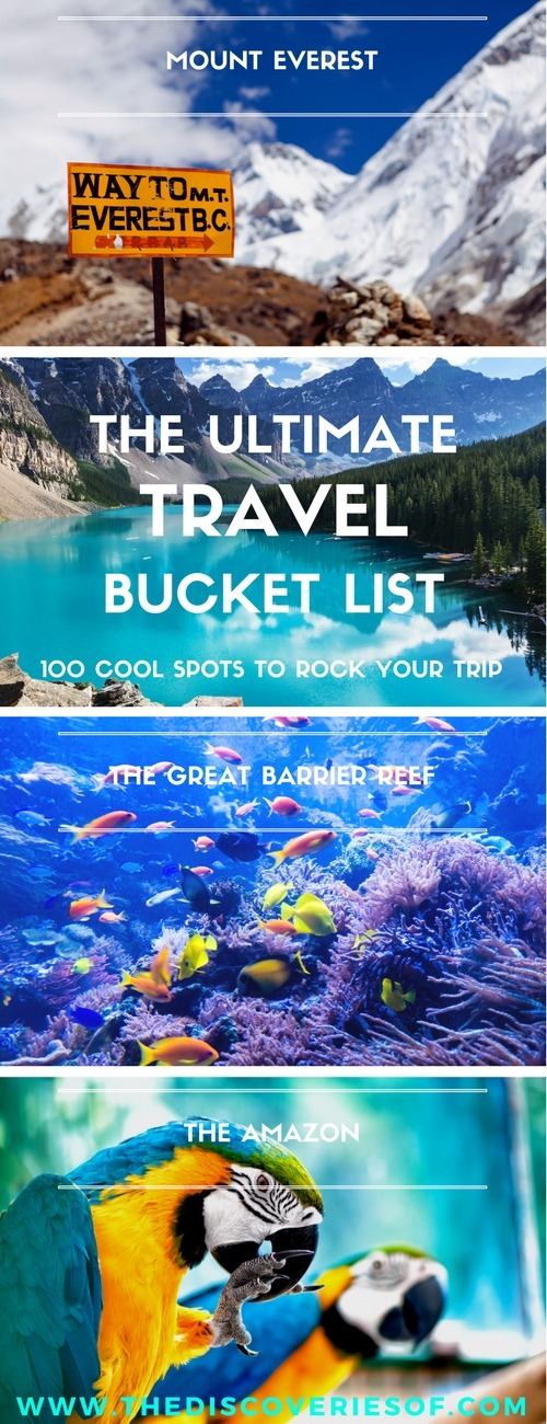 10 Best Freediving Destinations Plus Awesome Photos: 100 Things To Do Before You Die: The Travel Bucket List