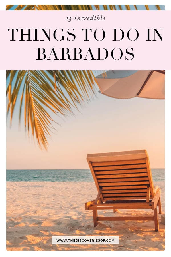Things to do in Barbados Caribbean