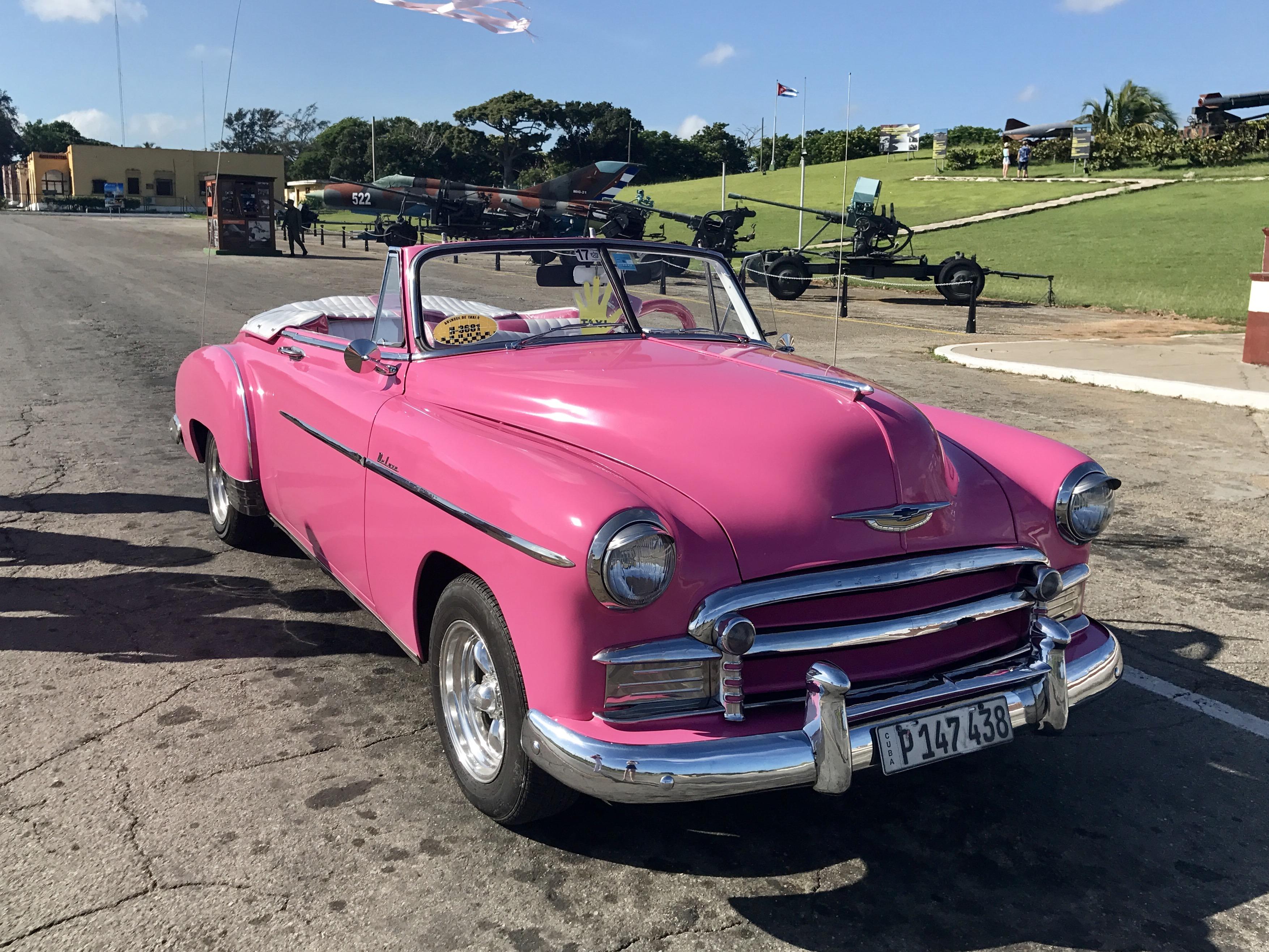 car tour, Havana
