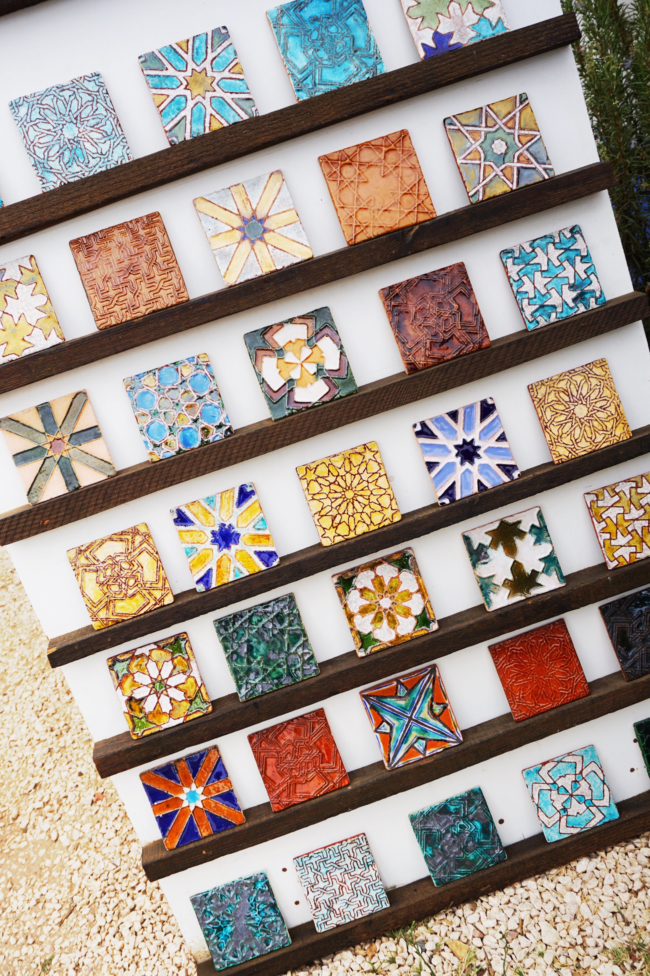 Azulejos in the Alentejo, Portugal