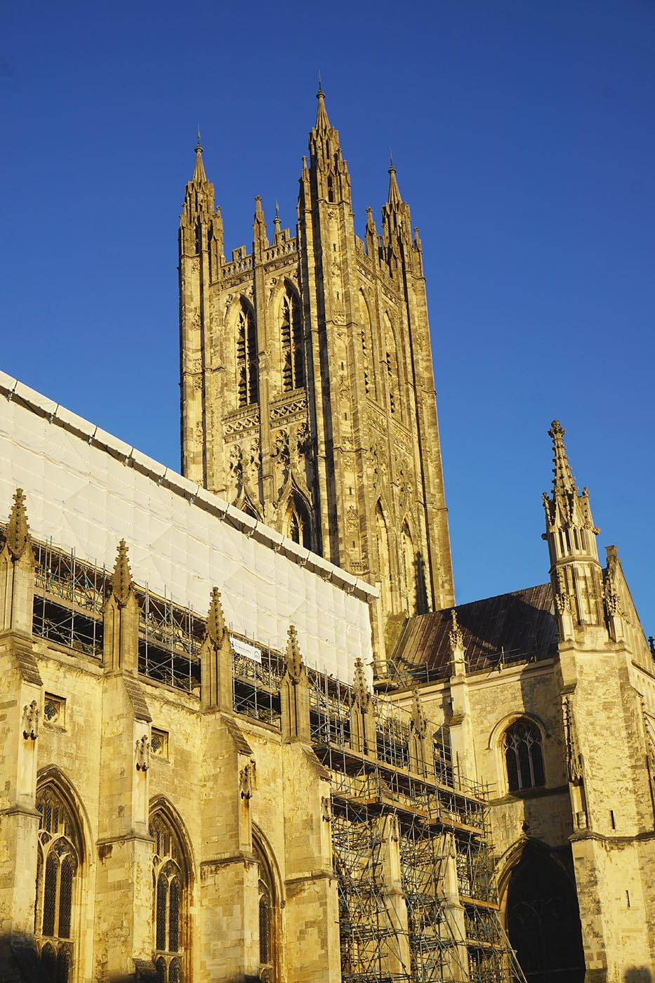 Day Trip to Canterbury - Canterbury Cathedral (under renovation)