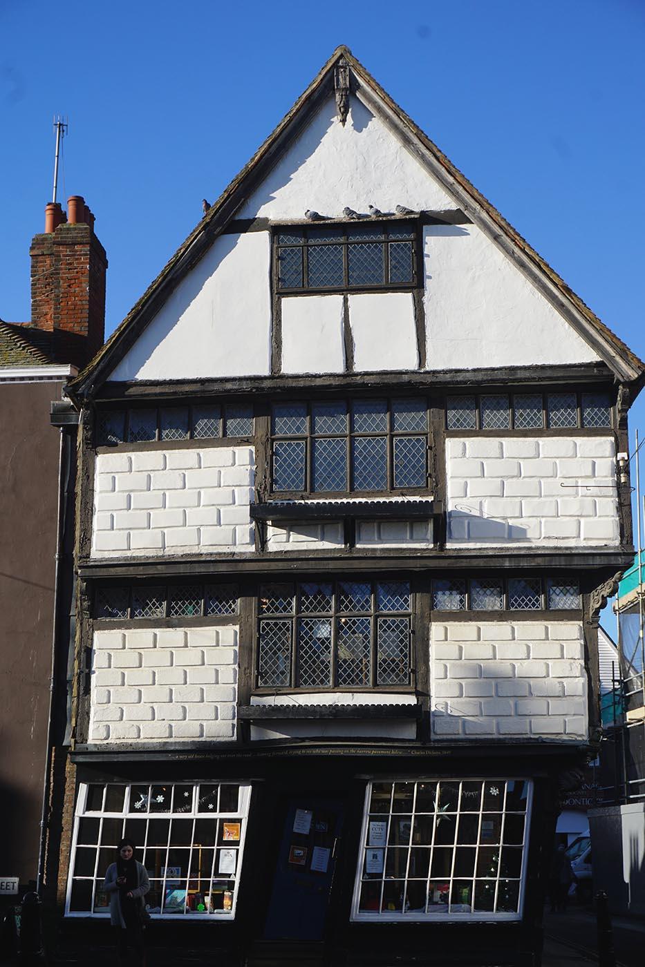 Wonky house, Canterbury