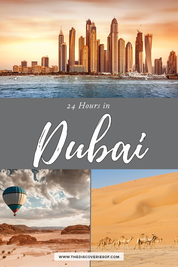Dubai, it's on! 24 hours in Dubai - the best things to do in Dubai in one day - the perfect travel guide. #travel #dubai #citybreak