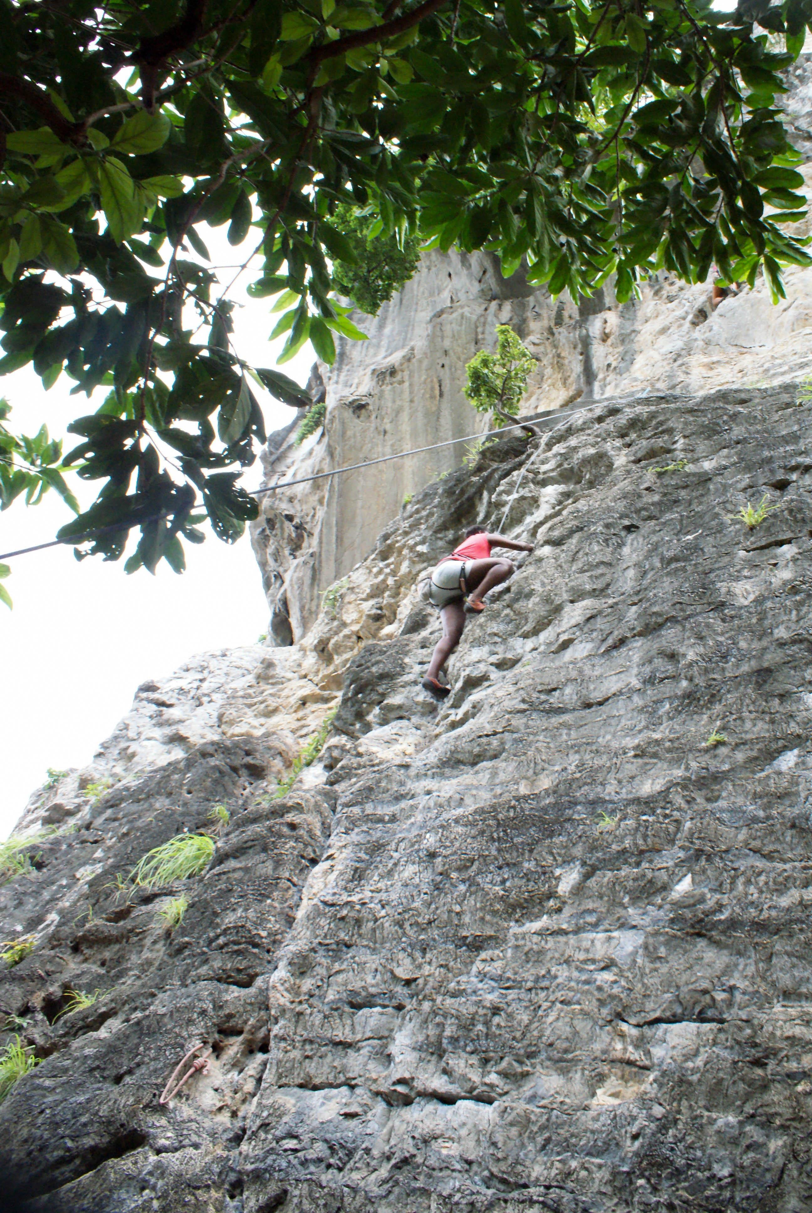 Postcards from Thailand: Railay, Krabi Photo Journal - Rock climbing