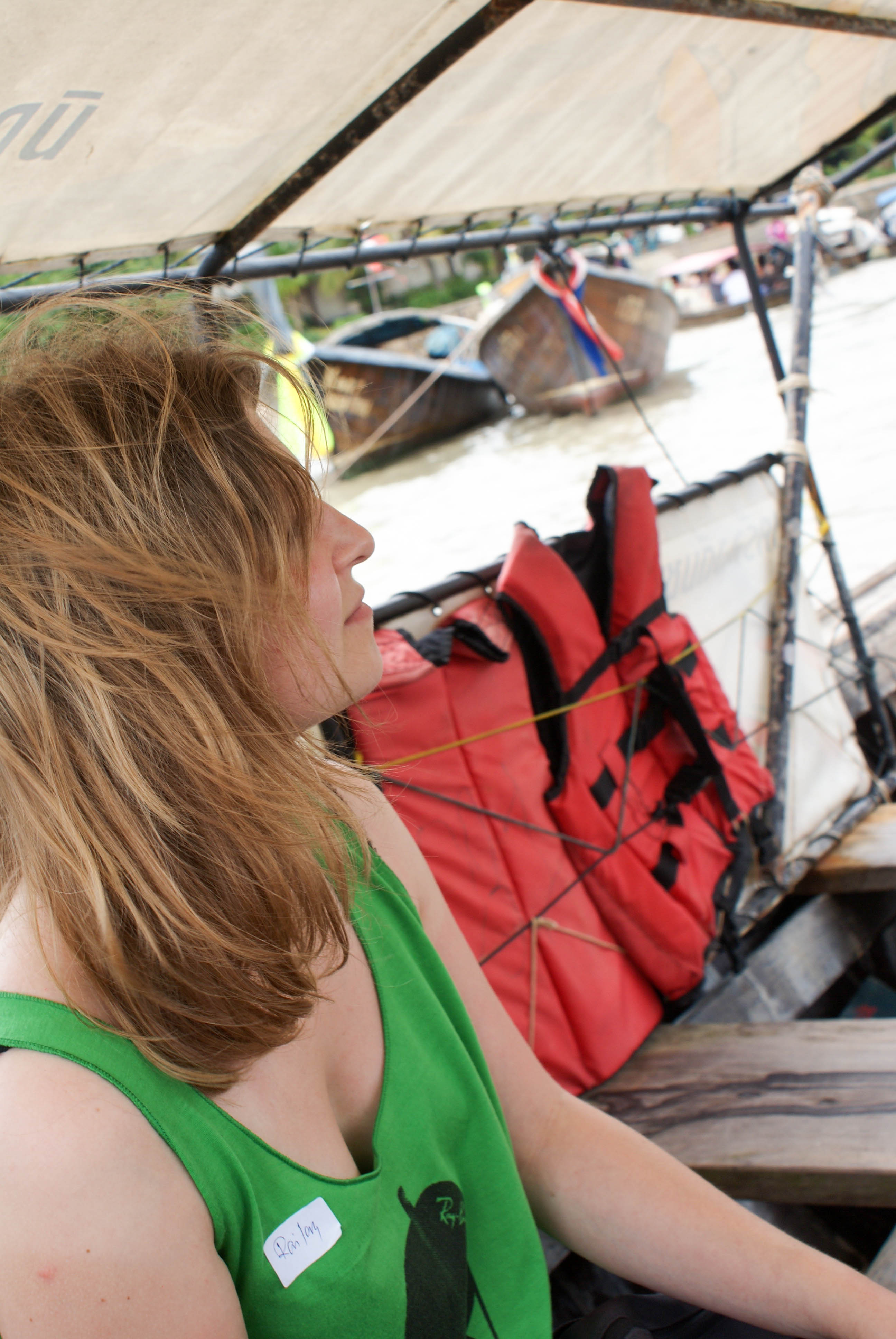 Postcards from Thailand: Railay, Krabi Photo Journal - On the way to Railay
