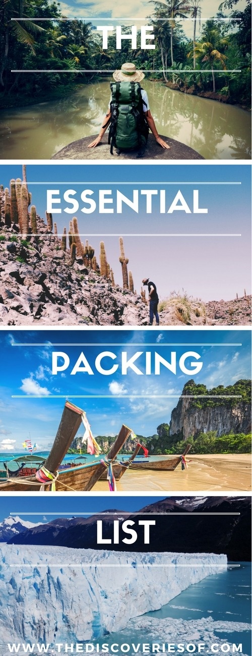 The ultimate backpacking packing list. Pack your bags, we're going on an adventure #backpacking #packinglist #travel
