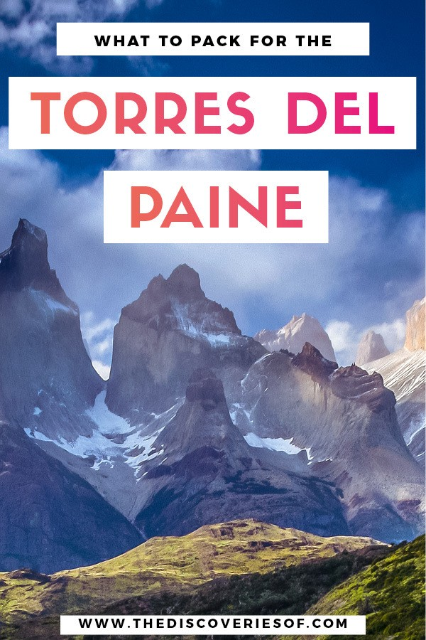 Planning to go hiking in the Torres del Paine National Park in Chile? What outfits do you need? What to pack? Here's what you need to know #hiking #chile #travel