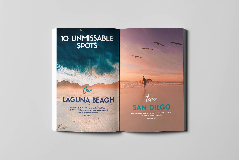 West Coast Guidebook - Inside Spread 1 - Written by Julianna Barnaby