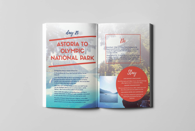 West Coast Guidebook - Inside Spread 2 - Written by Julianna Barnaby
