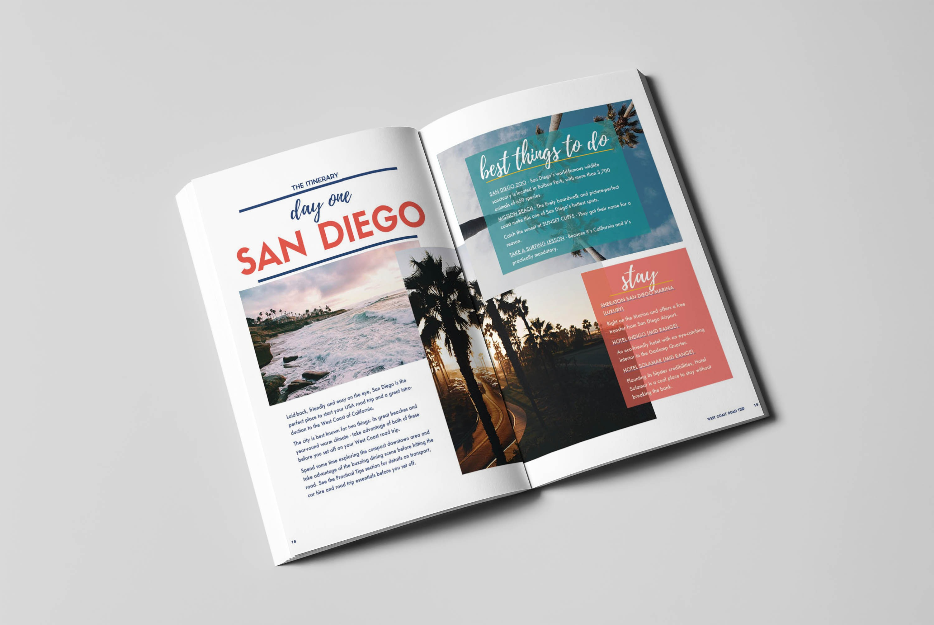 West Coast Guidebook - Inside Spread 3 - Written by Julianna Barnaby