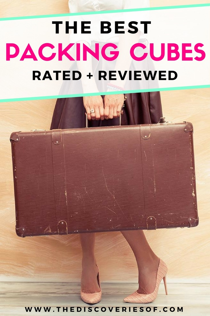 Packing cubes are the best packing hacks for travel. Read our full reviews. #packinglist #packingtips #travel